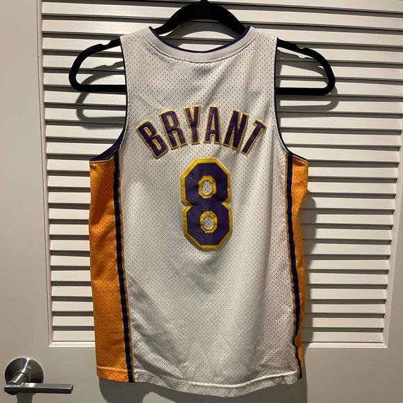 Nike Shirts & Tops   La Lakers 8 Kobe Bryant Jersey Youth M Nike ...